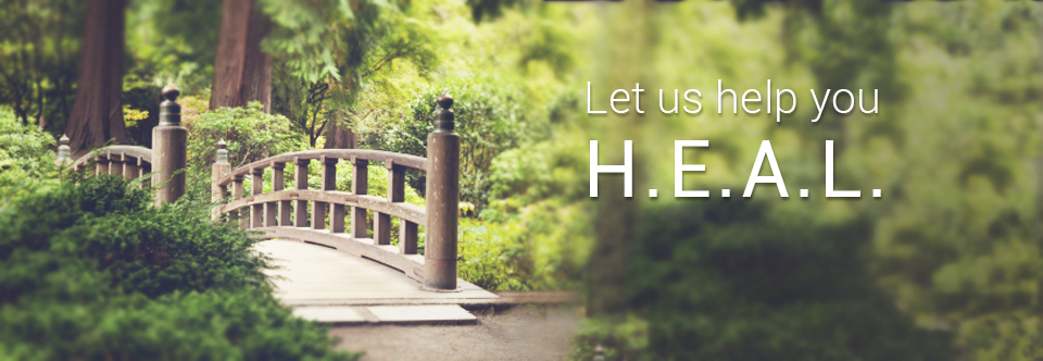 Let us help you HEAL